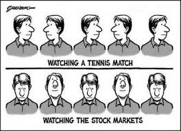 Stock Market Tennis Match